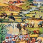 Poster veillée bol de riz