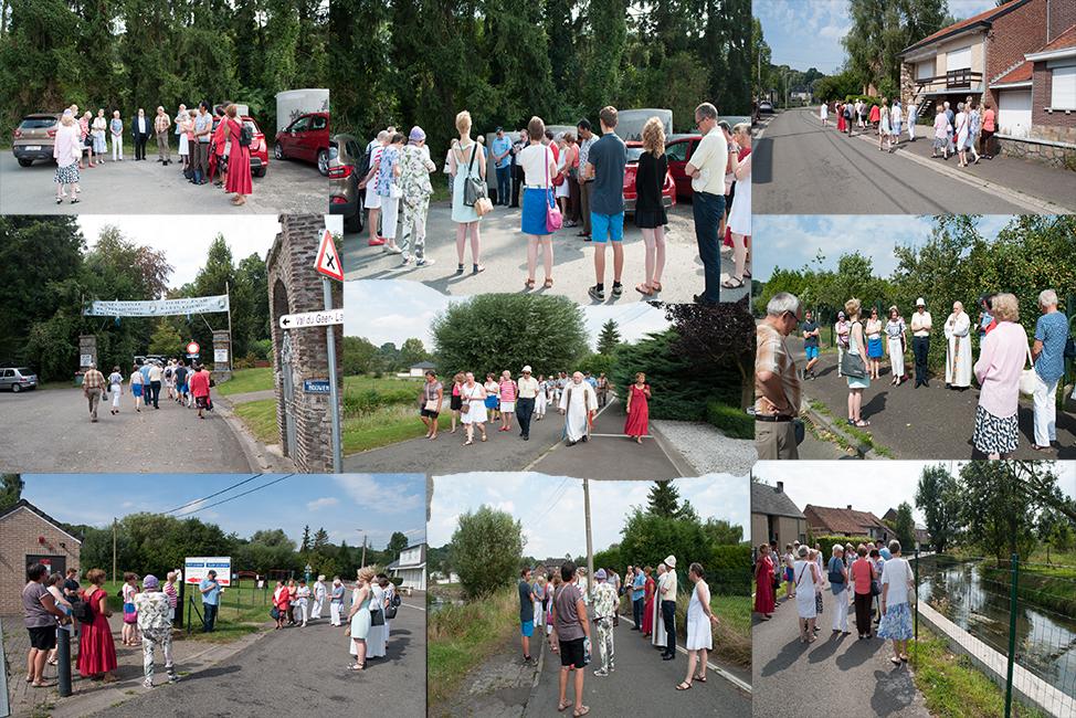 Site La procession