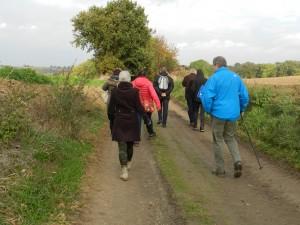 Nous cheminons sur les sentiers de nos campagnes