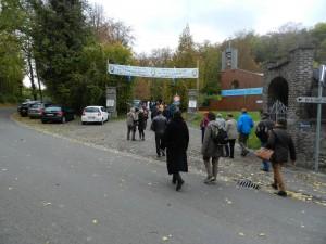 Arrivée au Petit Lourdes