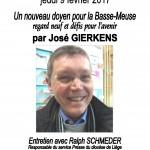 Affiche conférence doyen Gierkens